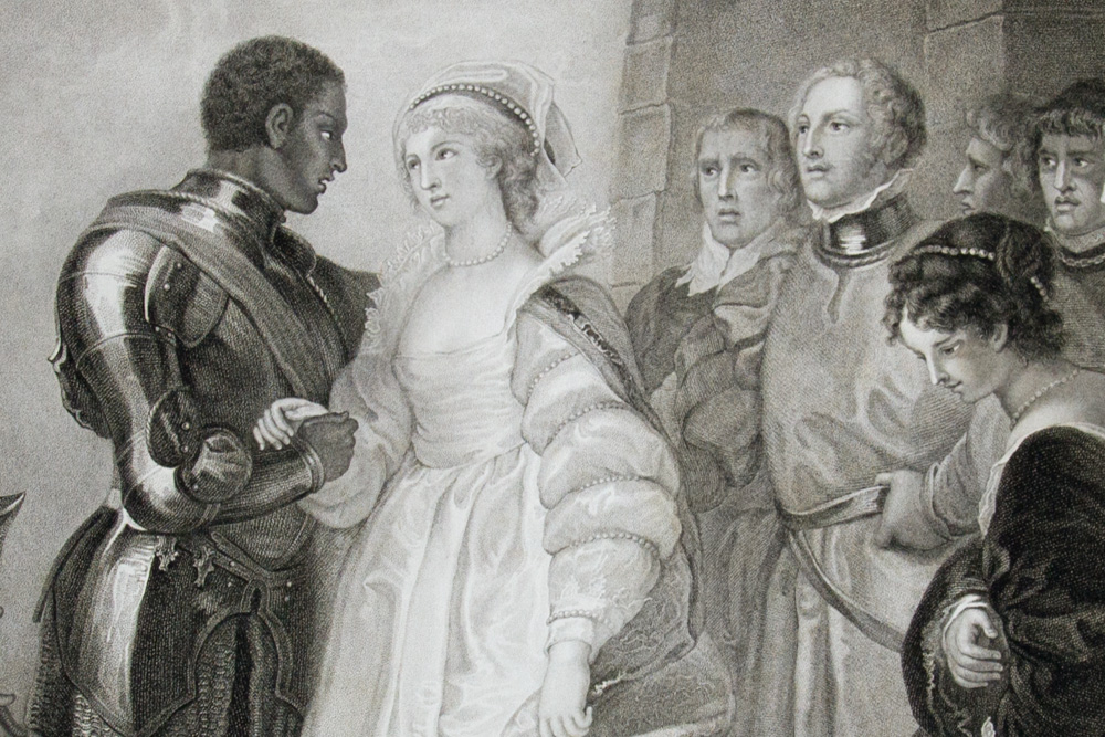 the elizabethan perception of the marriage between desdemona and othello Othello video questions + study guide elizabethan era -now they're going to the duke because he wants the marriage between othello and desdemona ended.