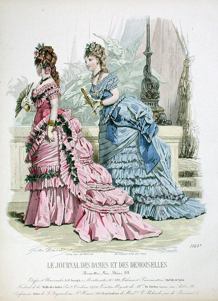 Fashion Prints From Journal Des Dames Et Des Demoiselles