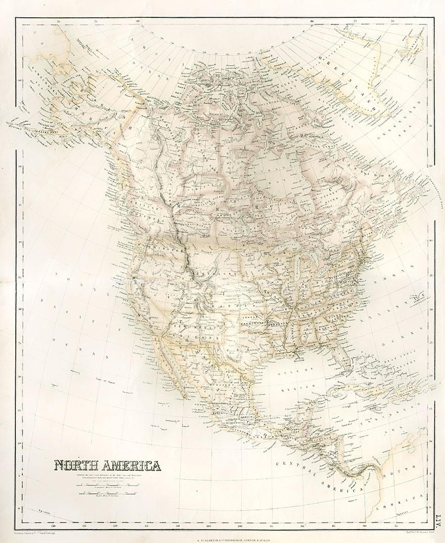 Interesting Maps 1690-1828