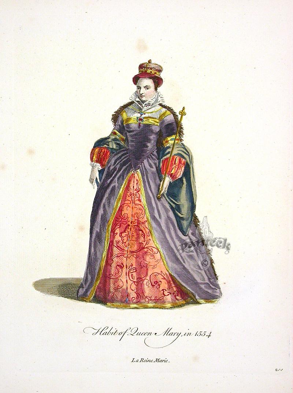Jefferys Old English Dress 1757
