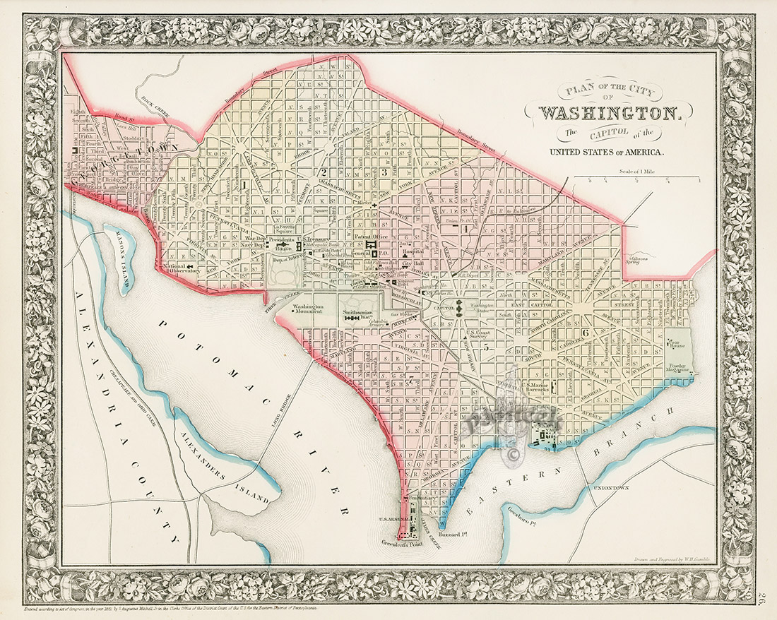 Washington D.C. from World maps, American State maps from ...