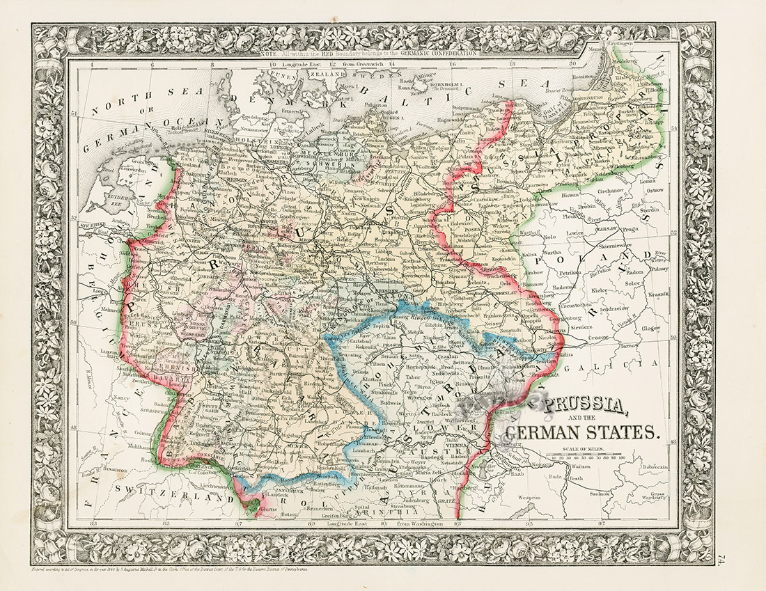 Prussia And The German States From World Maps American State Maps - American state maps