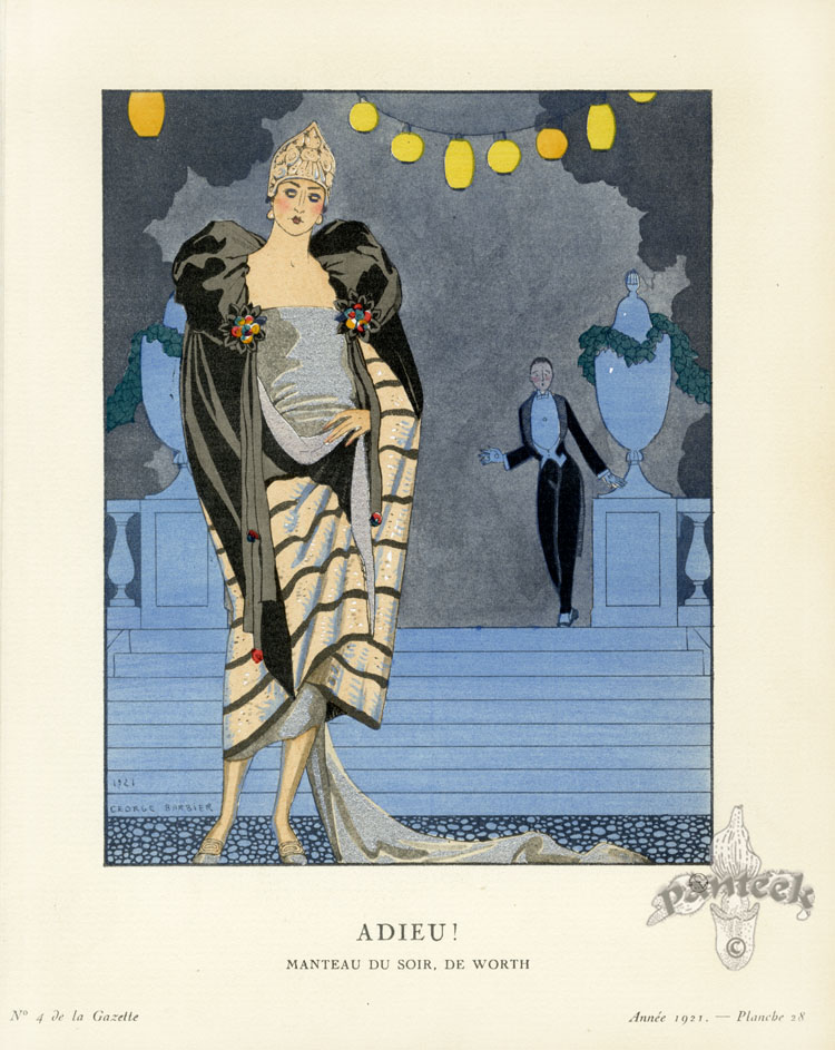 Gazette Du Bon Ton Antique Fashion Prints 1912 1913